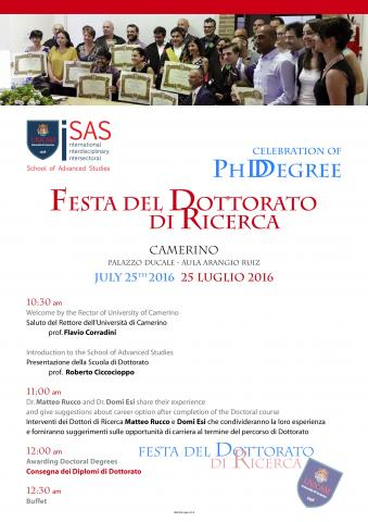 Doctoral Degree Awards Ceremony