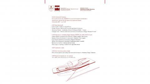 Inaugurazione Dottorato Architettura