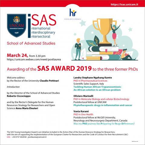 SAS AWARD 2019