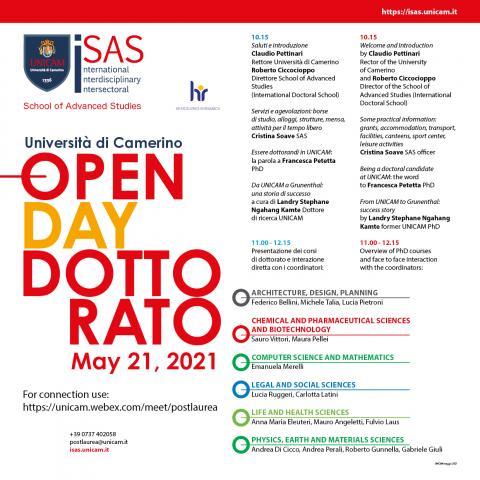 Open Day PhD