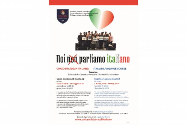 Italian language course A2